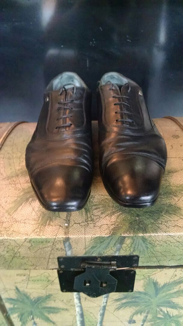 Men's Shoe Shine - After